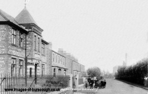 Burscough - Mill Lane & Library copy 1