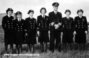 wrens with cpt hawkins commanding officer copy 1
