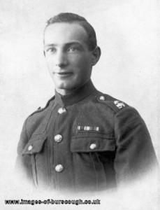 george porter c1915-18, lancashire fusilears