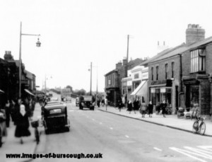 burscough village c1950 (3)