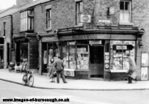 burscough village c1950