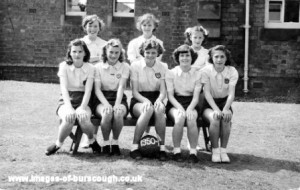 Methodist netball 1950-51