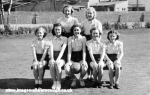 Methodist netball 1951-52