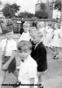 walton, walking day c1950s