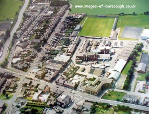 x aerial burscough village
