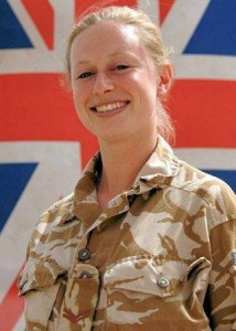 First woman killed in Afghanistan. Corporal Sarah Bryant of the Intelligence Corps killed in Afghanistan on Tuesday 17 June 2008. pic by Gavin Rodgers/Pixel 07917221968